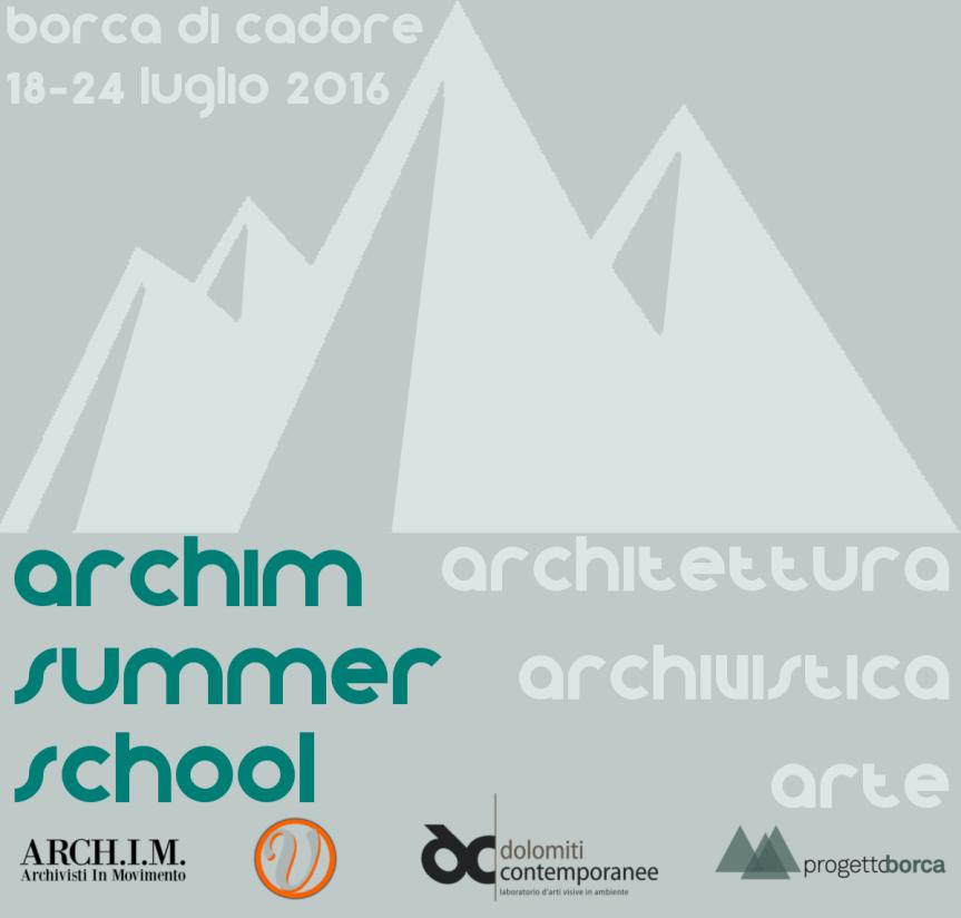 Archim Summer School2016