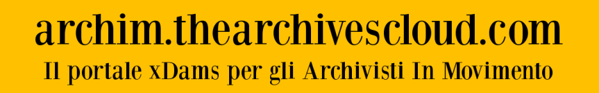 'The Archives Cloud' per gli Archivisti in Movimento: il primo fondo online è l'Archivio ProgettoBorca